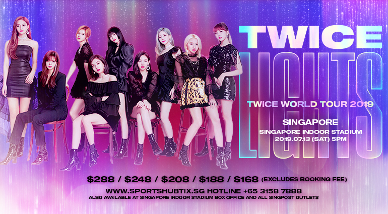 Twice World Tour 2019 Twicelights In Singapore Singapore Sports Hub