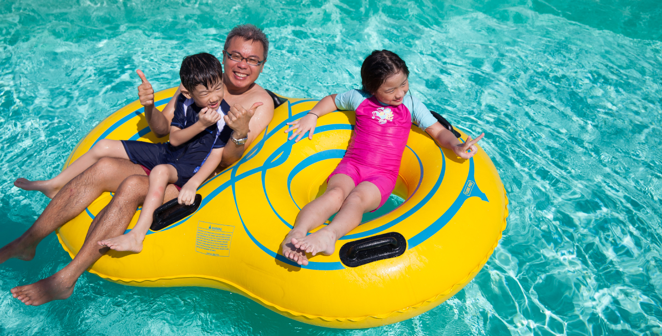 Relax at the Lazy River