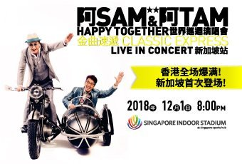 Sam & Tam Happy Together World Tour Singapore
